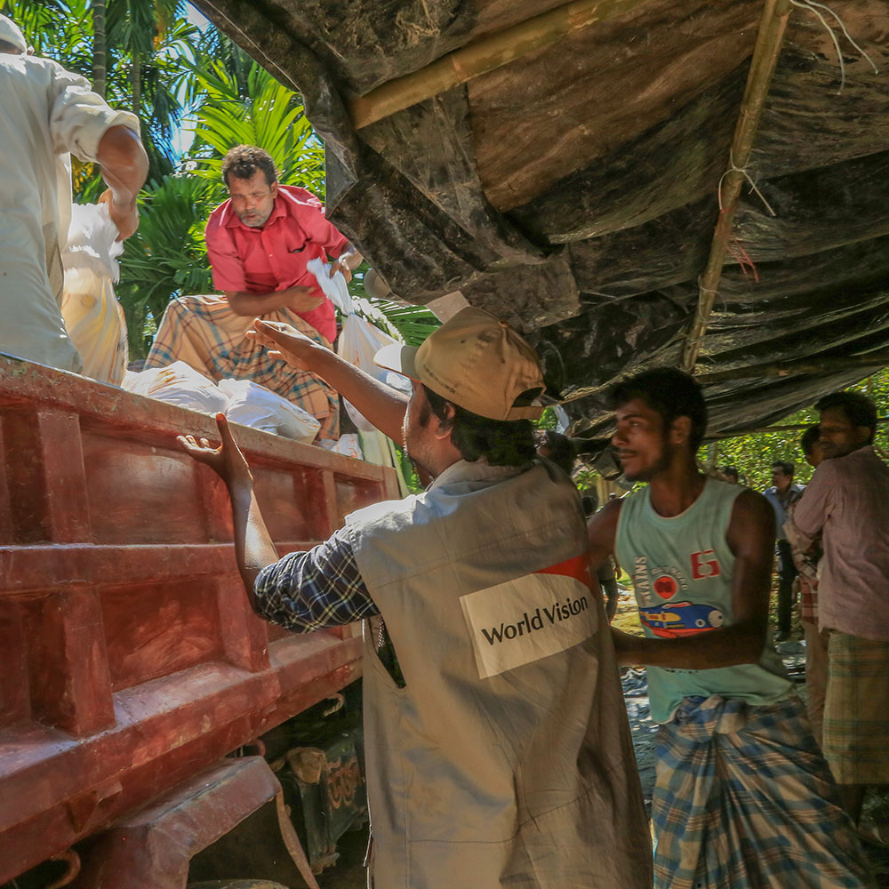 World Vison's team in Bangladesh aims to reach a total of 60,000 refugees