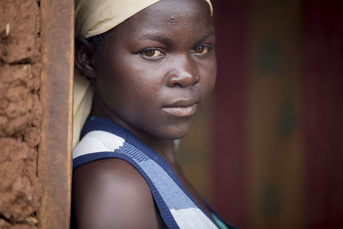 Child bride in Uganda