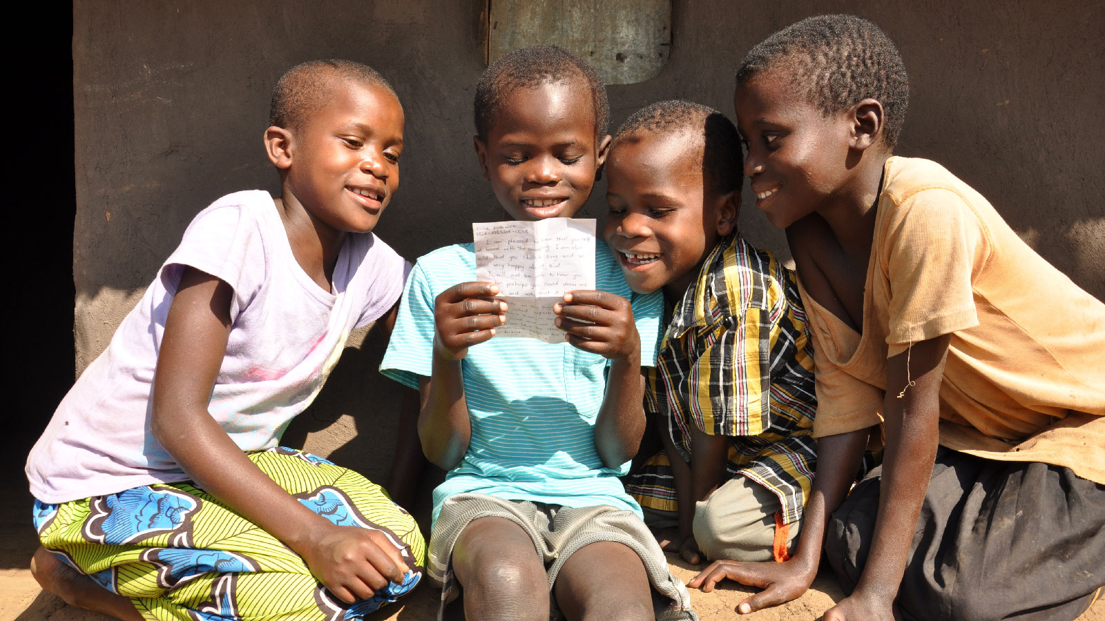 Keeping in touch with your sponsored child is quick and easy on My World Vision. Photo: Simon Peter Esaku/World Vision