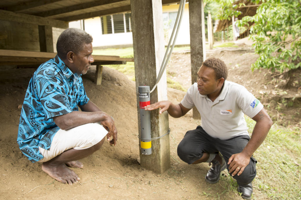 Solomon Islands Climate Change Adaptation Disaster Risk Reduction World Vision Australian Aid