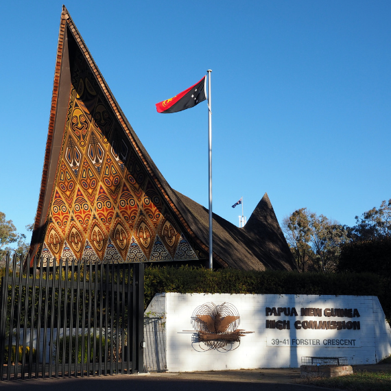 PNG High Commission to Australia in Canberra