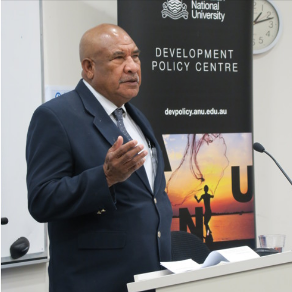 PNG's High Commissioner to Australia, His Excellency Mr John Kali CMG OBE