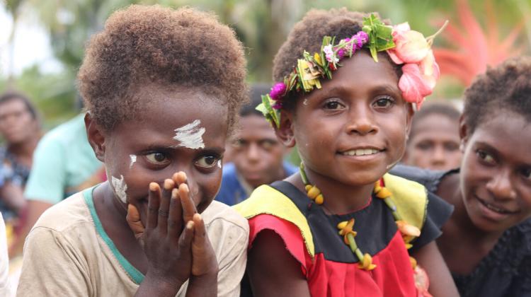 Papua New Guinea PNG Children in Crisis