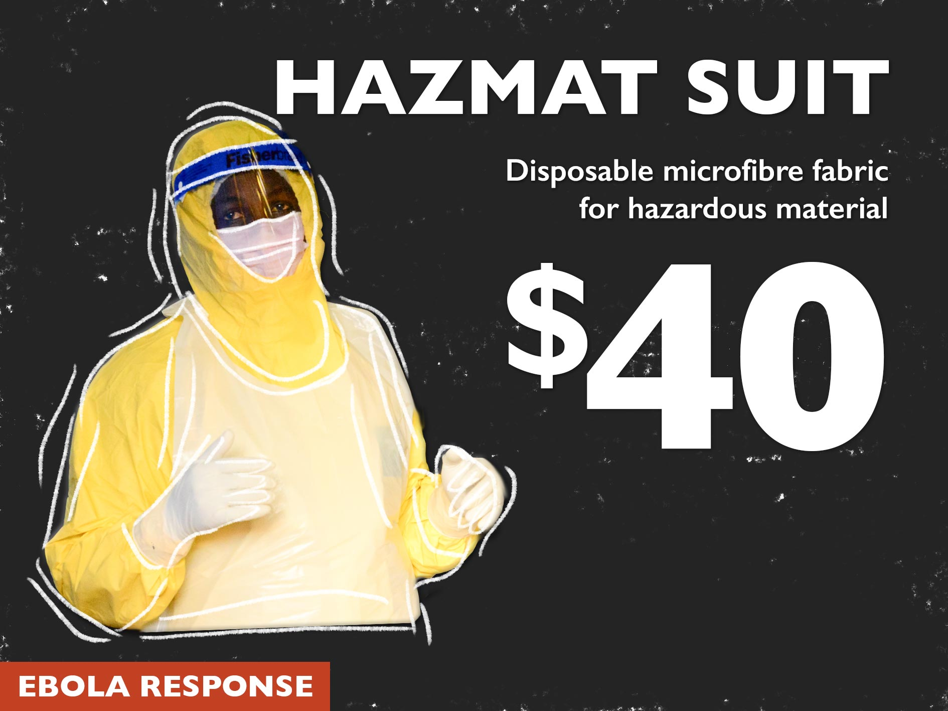 Hazmat Suit Ebola World Vision Australia