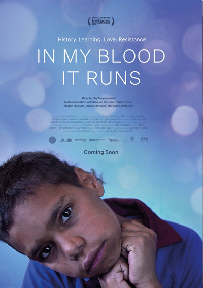 In My Blood It Runs Poster