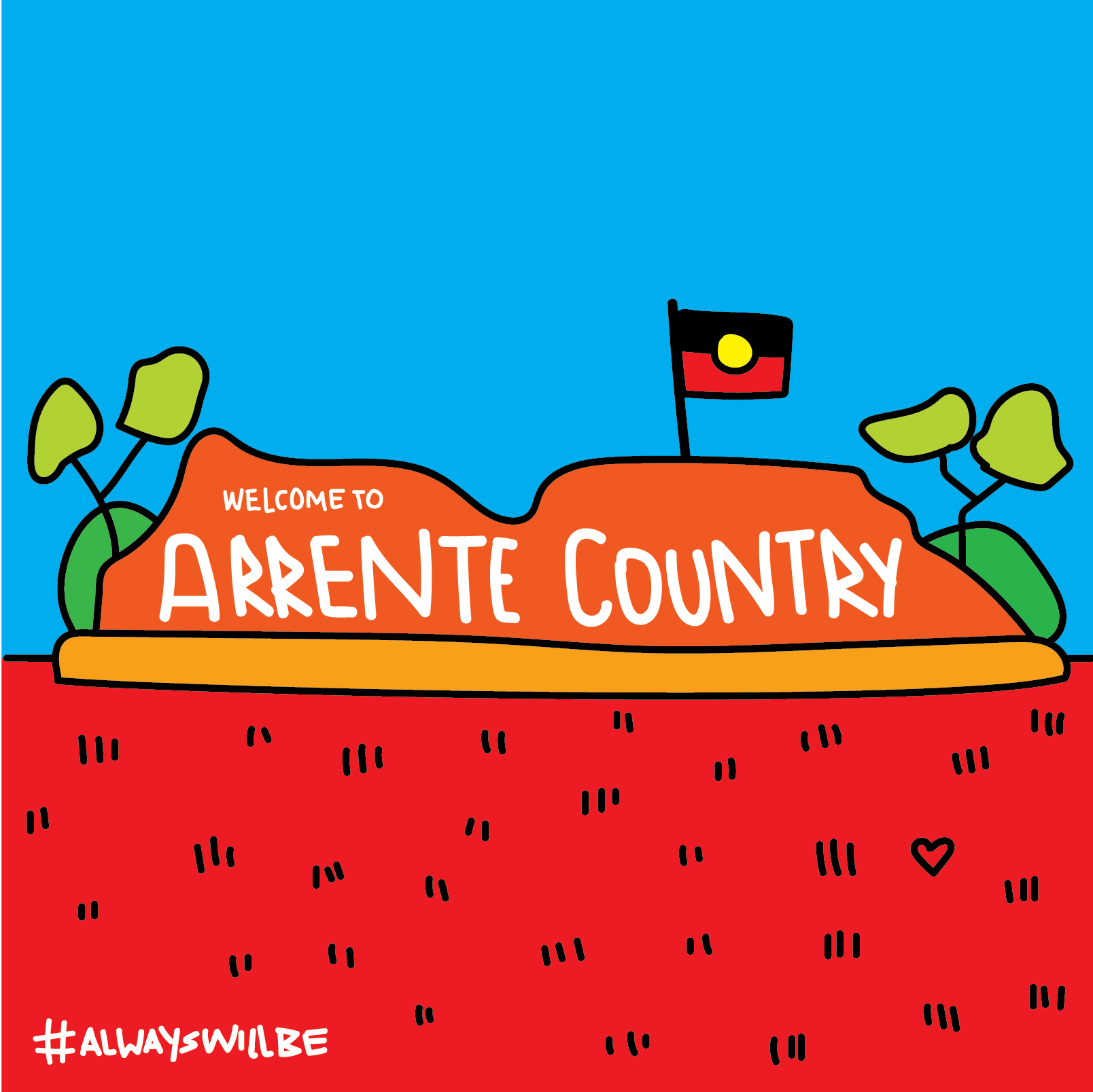 Arrente Country (Alice Springs)