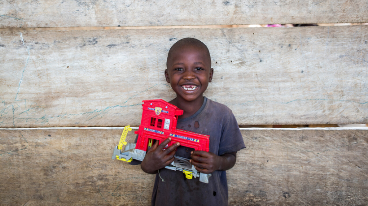 Toys for post-trauma counselling, DR Congo (2019)
