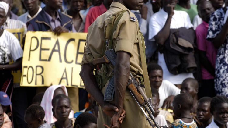 Peace Efforts in Uganda (2005)