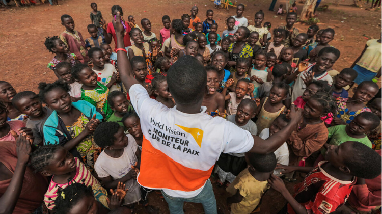 World Vision Peace Club and Child Friendly Space Central African Republic (2018)