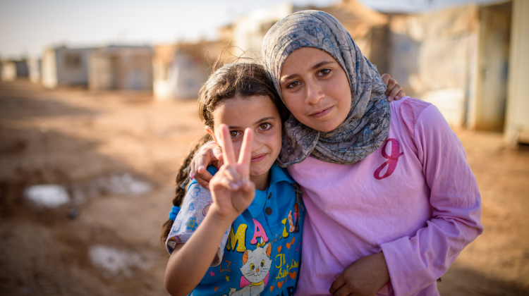 Zaatari  Refugee Camp, Jordan (2013)
