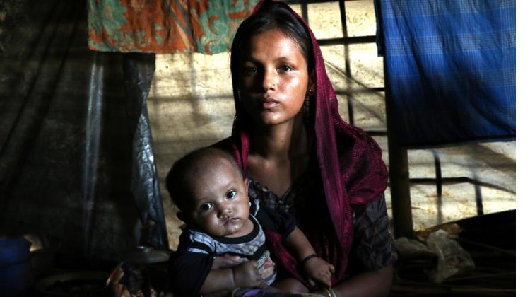 Jamira, 26, Mother and Rohingya Refugee (2017)