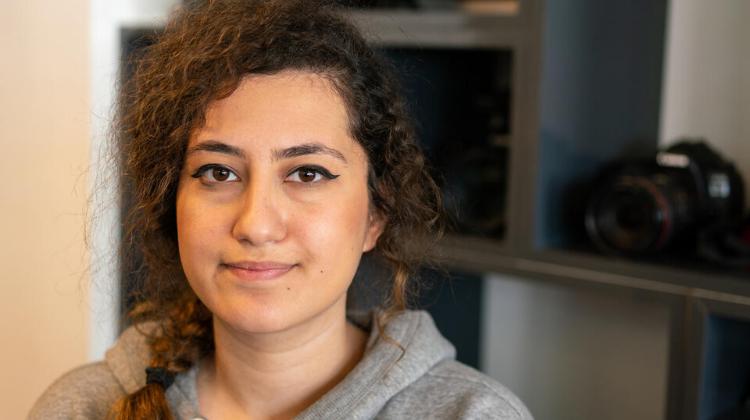 Aryana (20), aspiring Photographer and Syrian Refugee