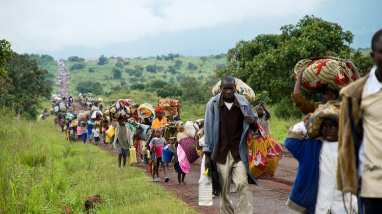 Internally Displaced People, DR Congo (2008)