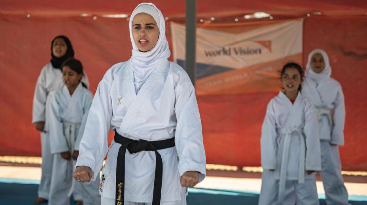Self Defence for Syrian refugee girls (2019)