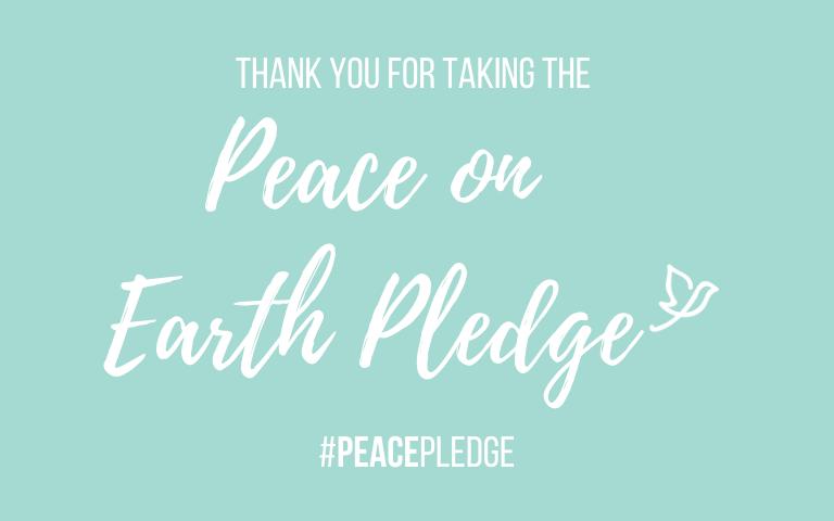 Peace on earth pledge, conflict, australian aid