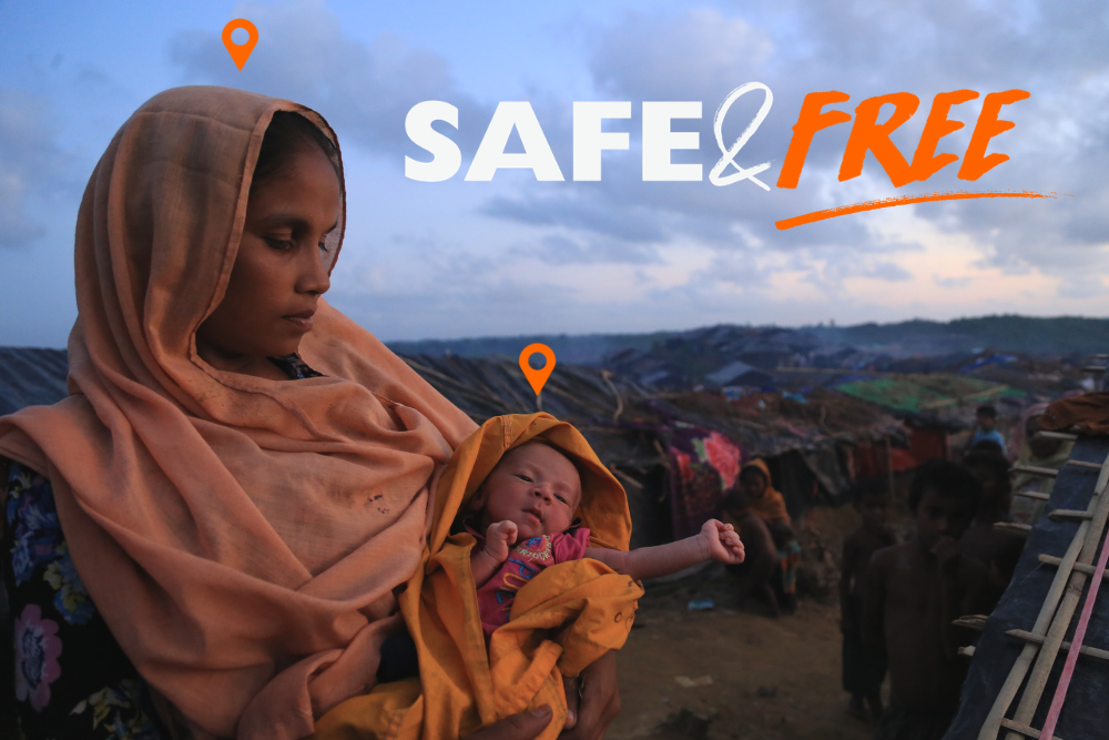 Safe and Free Campaign for Refugees by World Vision