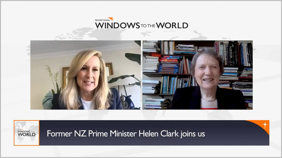 Windows to the World episode 1 with Helen Clark