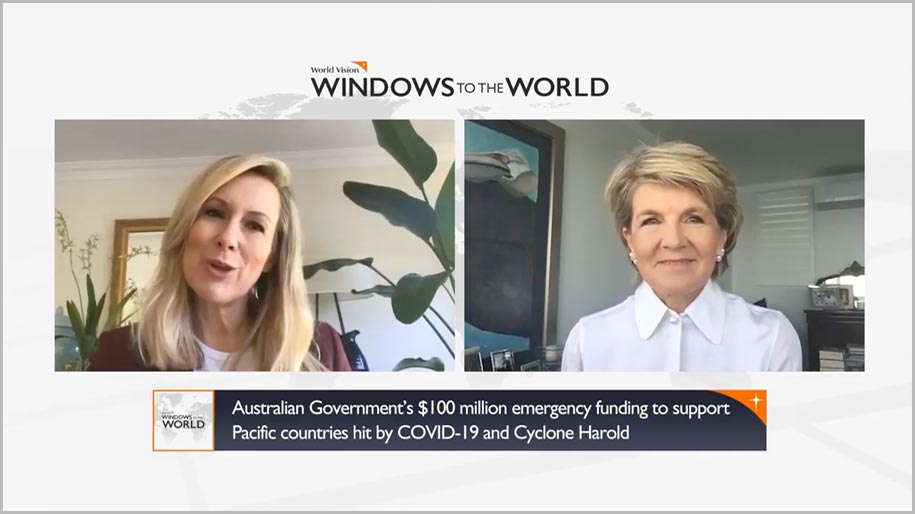 Windows to the World episode 2 with The Honorable Julie Bishop