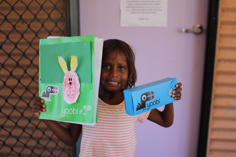 Indigenous children learning with Yoobi stationary