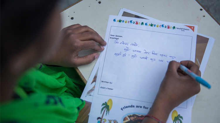 Christmas Greetings To My Sponsor.Write To Your Sponsored Child World Vision Australia