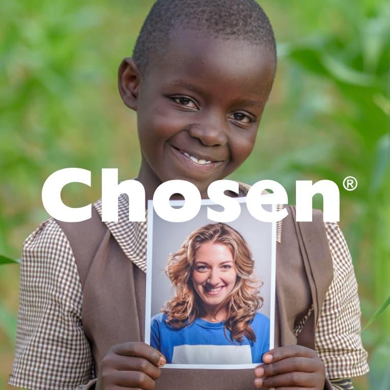 Invite a child to choose you