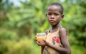 Help children like Esther get clean water
