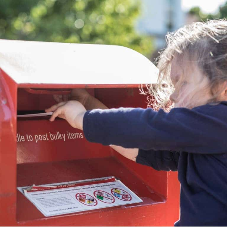 Send your letter electronically or through the post