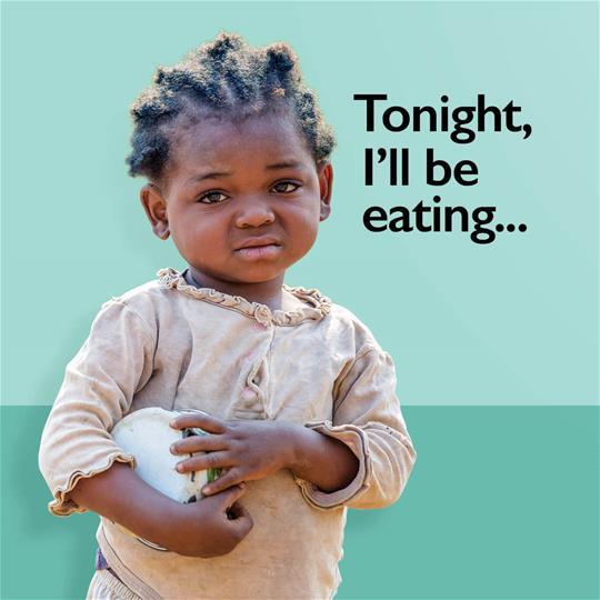 Tonight I'll be eating