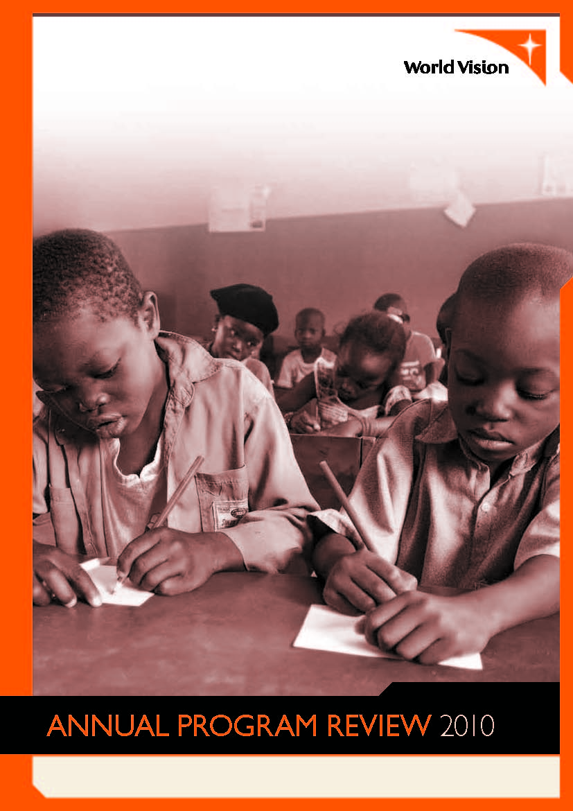 World Vision Australia Annual Program Review 2011
