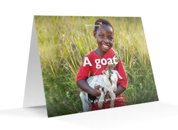 Give the gift of a goat