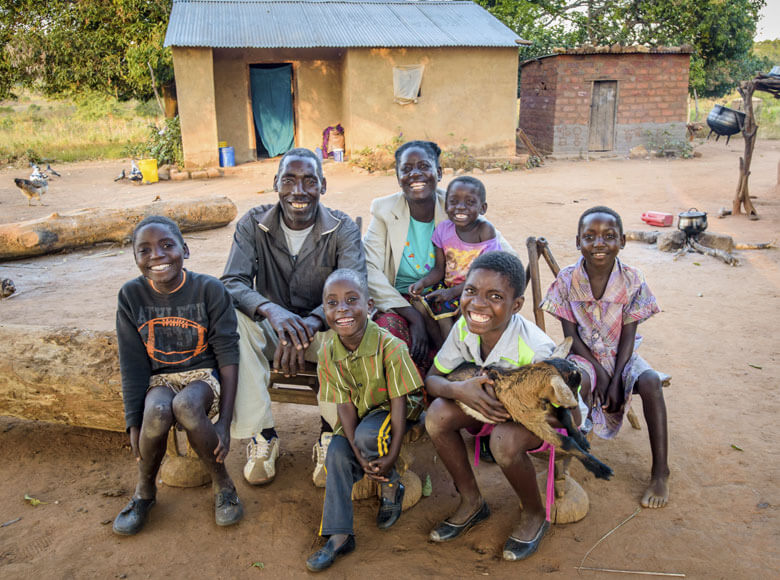 World Vision gift of family favourites