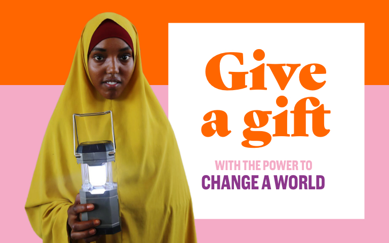 Gifts with the power to change a world