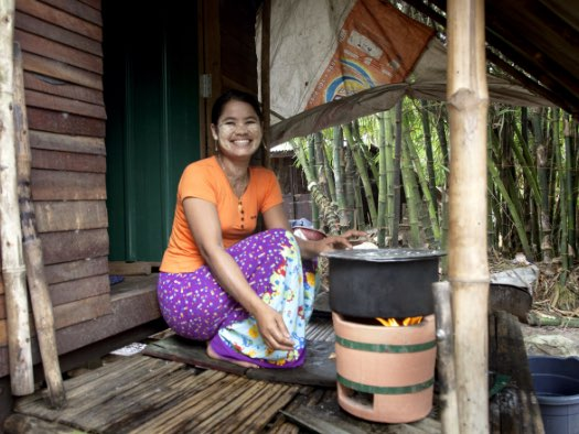 Eco-cooking stove