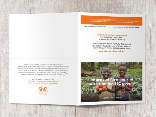 In South Sudan, Gume and Kopesa proudly display freshly picked vegetables grown in their community's garden.