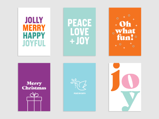 PackOfSixChristmasCards
