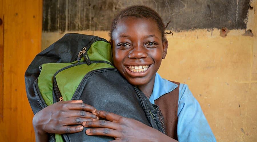 World Vision Donate Goods - School supplies