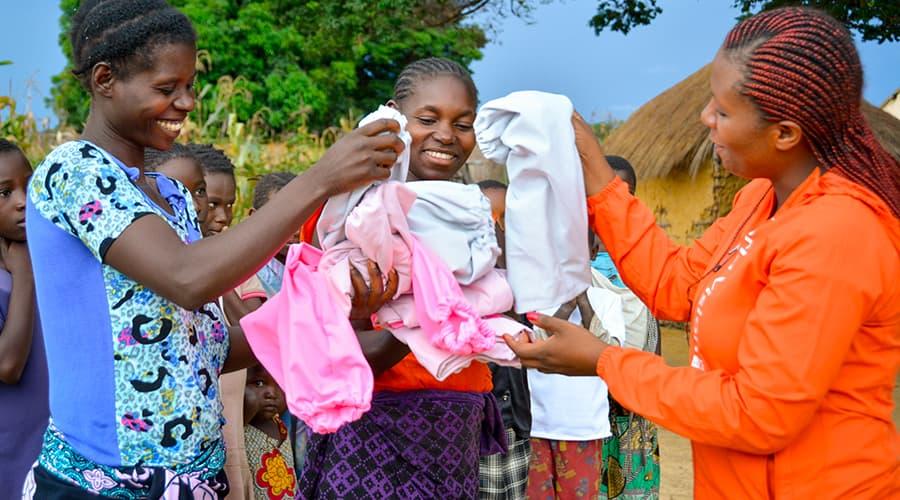 World Vision Donate Goods - Clothing